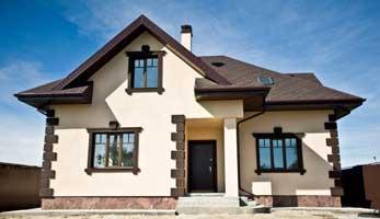 Отделка фасада домов в Крыму