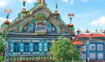 Расписные русские дома